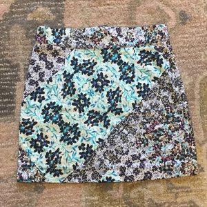 Sam&Lavi printed mini skirt